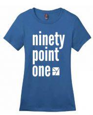 WFYI 90.1 T-Shirt, Womens - XLarge