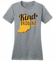 WFYI Kind Indiana T-Shirt, Womens - Medium